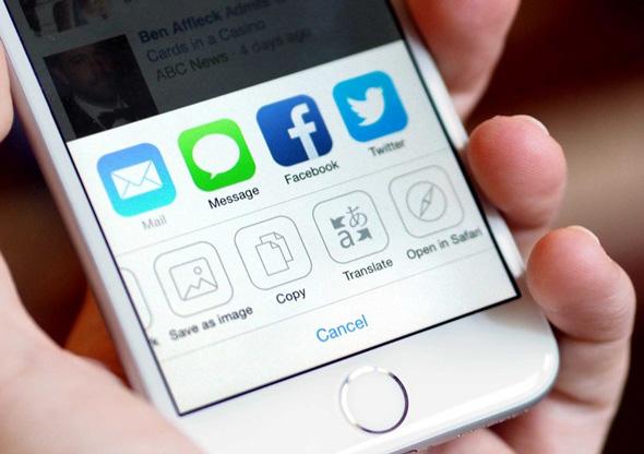 كيف تترجم المواقع في iOS ؟