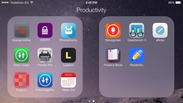 Productivity b