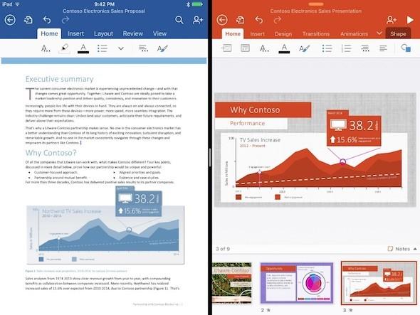 Office iOS 9