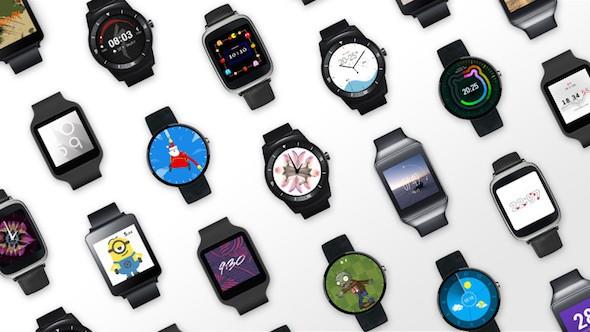 ساعات أندرويد Wear الآن تدعم الآي فون