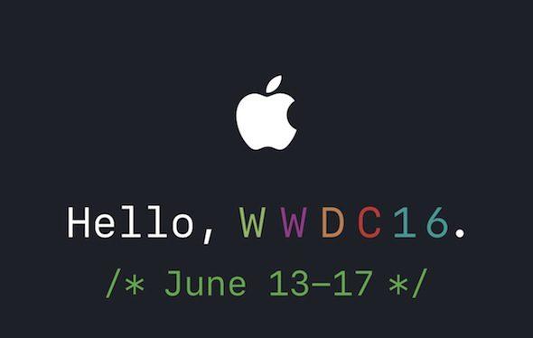 أبل تعلن عن مؤتمر WWDC 2016 من 13-17 يونيو
