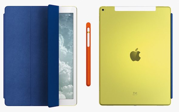 Yellow iPad