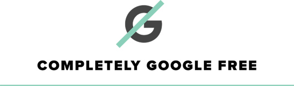 google-free UnaPhone label
