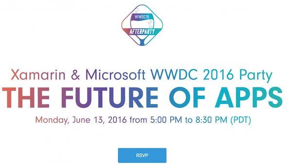 Microsoft Party WWDC