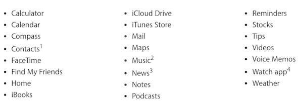 Remove Apps
