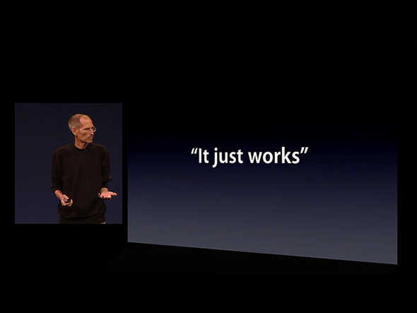 apple- it just works : steve jobs