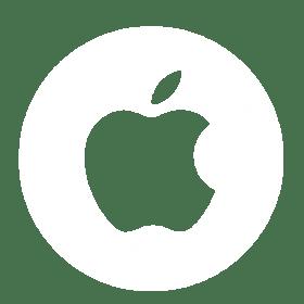 white-apple-circle-logo
