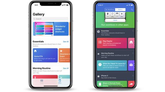 التدريب العملي على تطبيق الاختصارات سيري في iOS 12