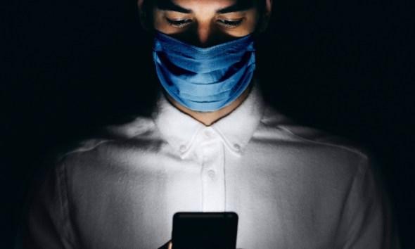 Coronavirus on iPhone