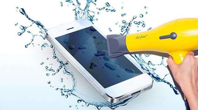 الأرز للعشاء وليس لتجفيف هاتفك من الماء