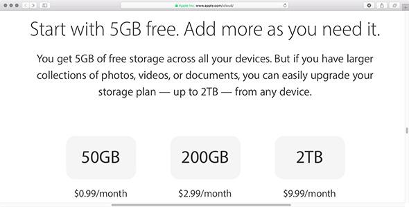 إليك كل ما تحتاج أن تعرفه حول خدمة التخزين السحابي iCloud