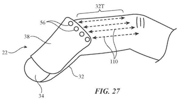 جهاز تحكم مثبت بالإصبع لنظارة الواقع المعزز في براءة اختراع جديدة من أبل