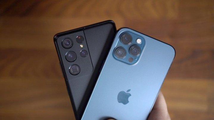 مقارنة كاميرا آي-فون 12 برو ماكس مقابل سامسونج جلاكسي S21 الترا