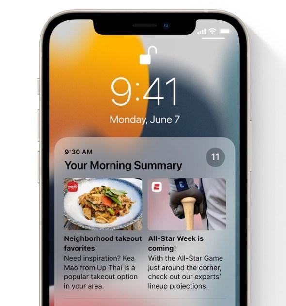 ميزات جديدة في نظام التشغيل iOS 15