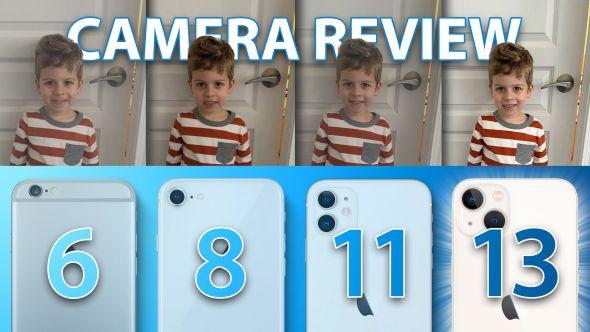 مقارنة كاميرا آي-فون 13 مع الهواتف الآي فون الأقدم في كل الظروف