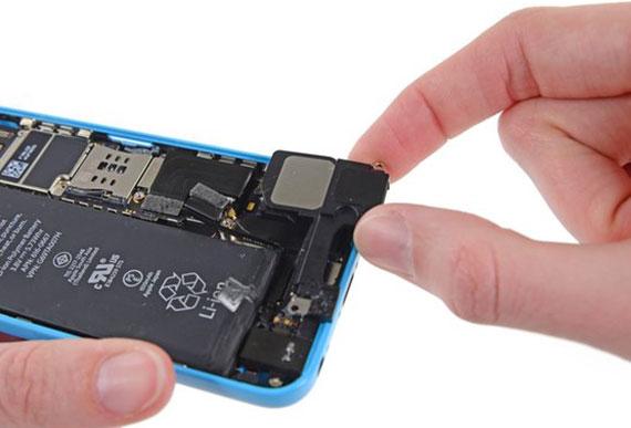 iPhone 5c hoparlör değişimi