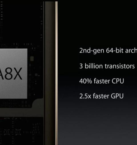 Презентация процессора Apple A8X