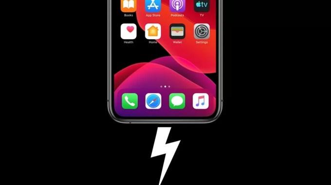 Зарядка iPhone