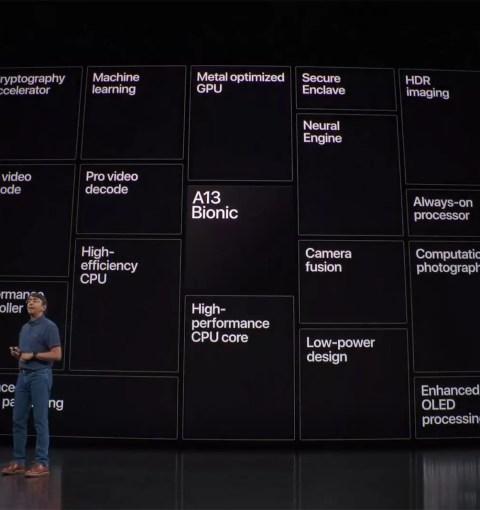 Презентация Apple A13 Bionic