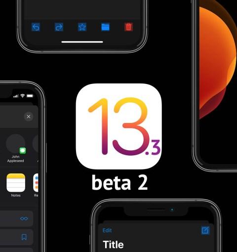iOS 13.3 beta 2