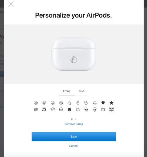 Гравировка на AirPods Pro