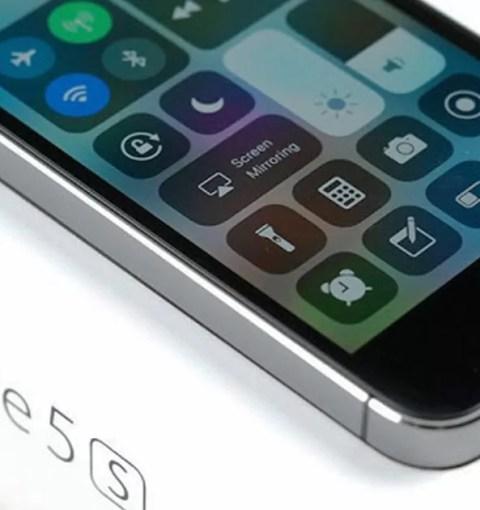 iPhone 5S на коробке
