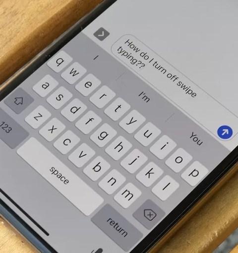 Обновлённая клавиатура в iOS 13