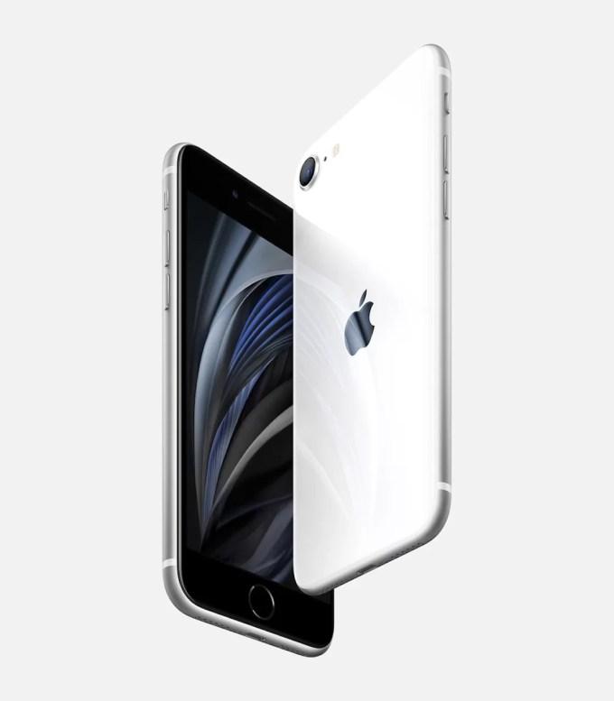 Белый iPhone SE 2 – го поколения