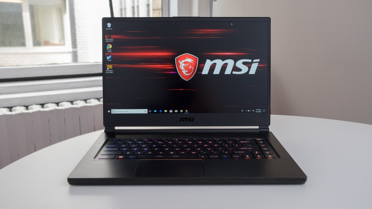 Best 15-inch laptop: MSI GS65 Stealth