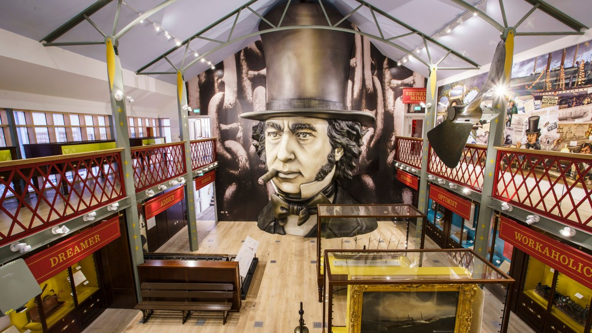 Image of SS Great Britain exhibition
