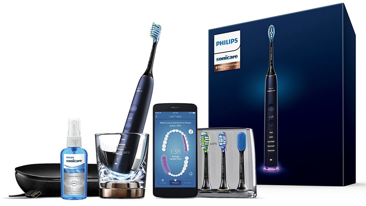 Philips Sonicare DiamondClean Smart connected toothbrush