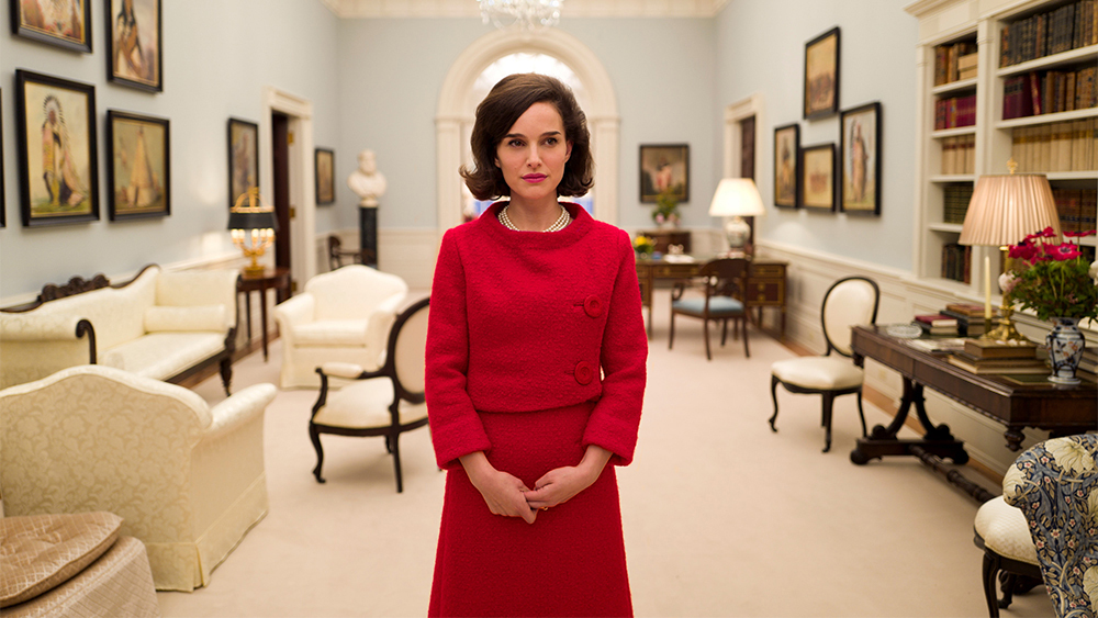 A still/promo shot from the movie jackie