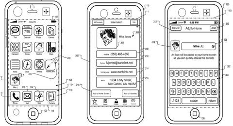 Patente de Apple para poner contactos en la Lock Screen si