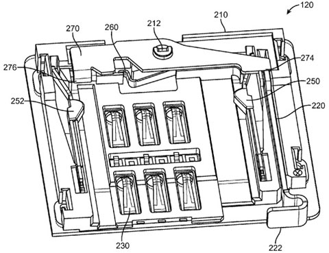 Apple consigue patentar un mecanismo para insertar o