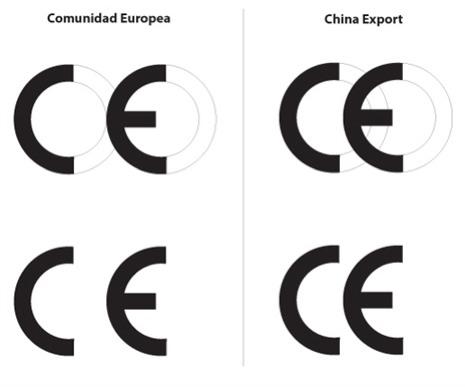 Qué significa el símbolo CE que hay en la parte trasera de