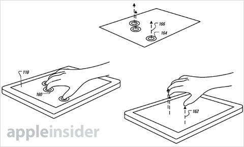 Apple patenta gestos en 3D gracias a un sensor de
