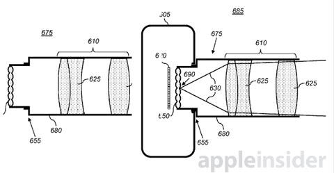 Una cámara plenóptica al estilo Lytro en una nueva patente