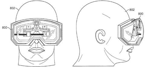 Apple patenta unas gafas para ver videos en iPhoneros