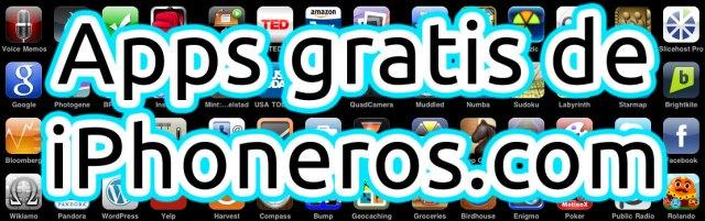 Apps gratis(free) en iPhoneros.com
