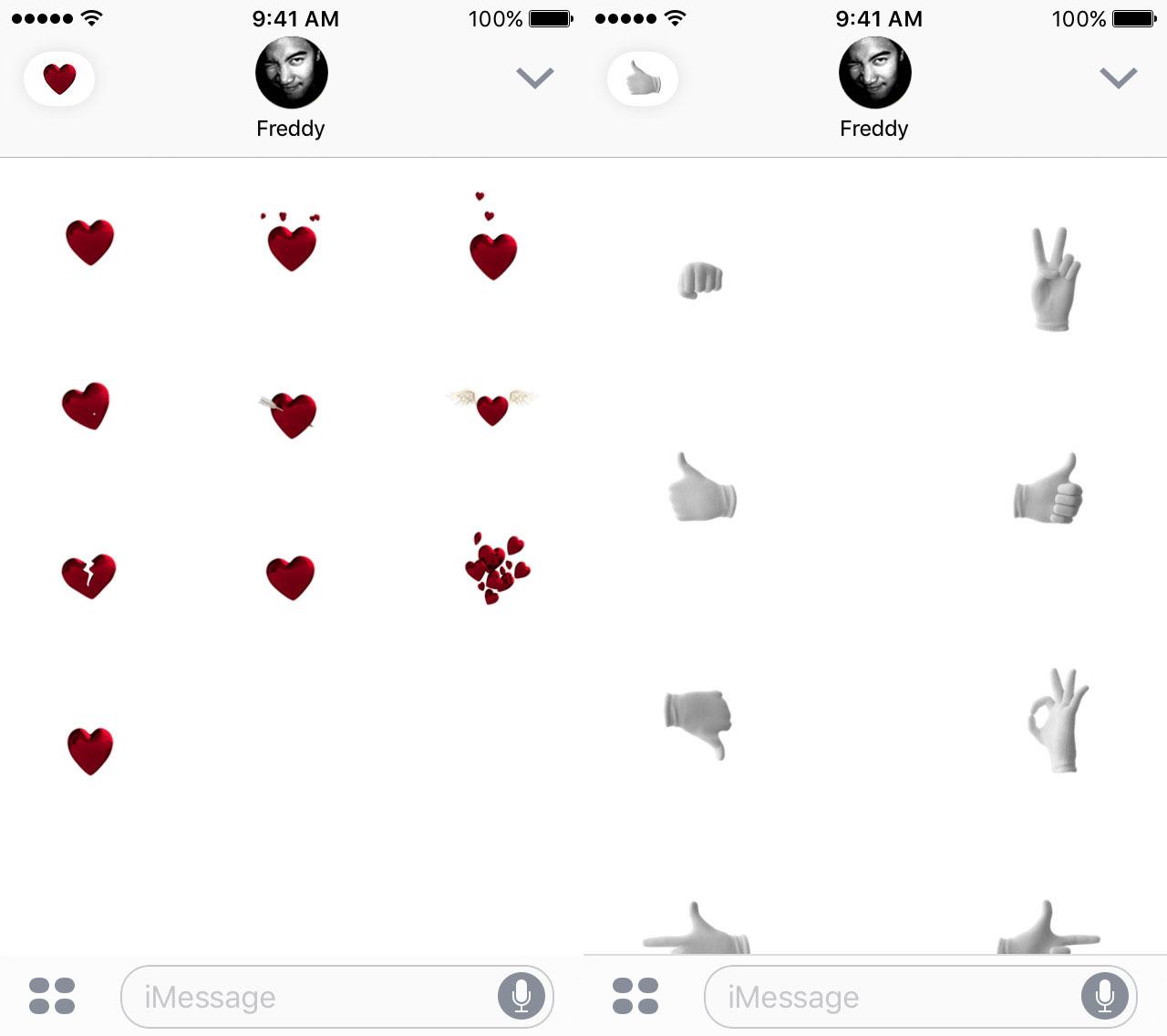 Apple publica 4 paquetes de Emojis animados para la App de