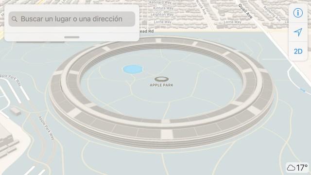 Apple Park en 3D