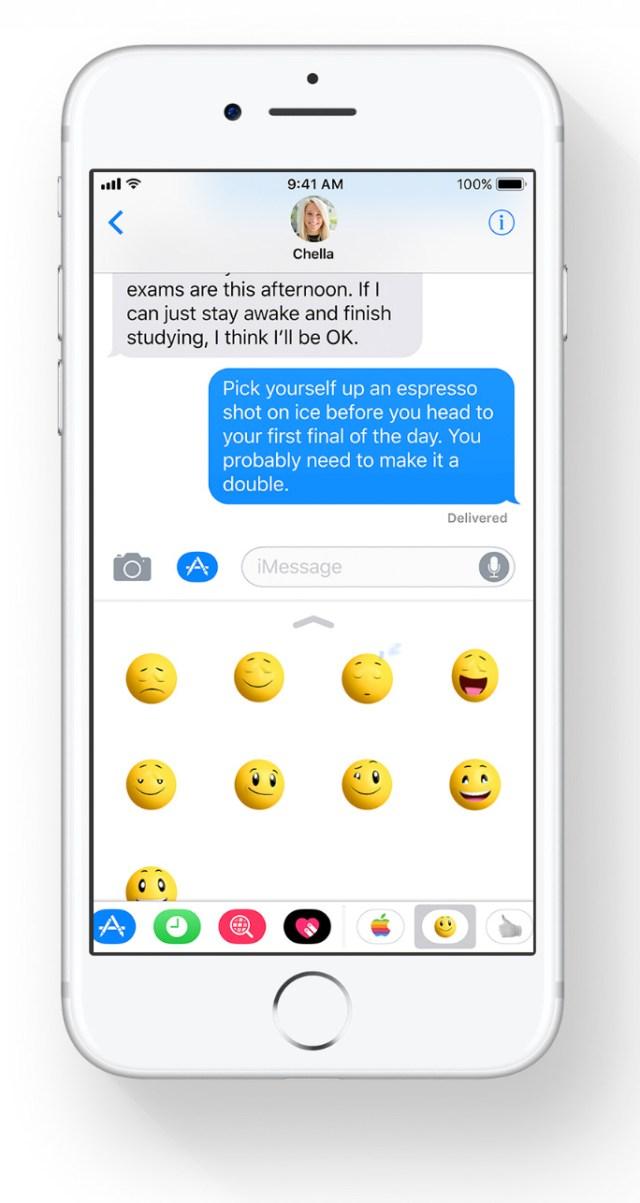 App de Mensajes en iOS℗ 11