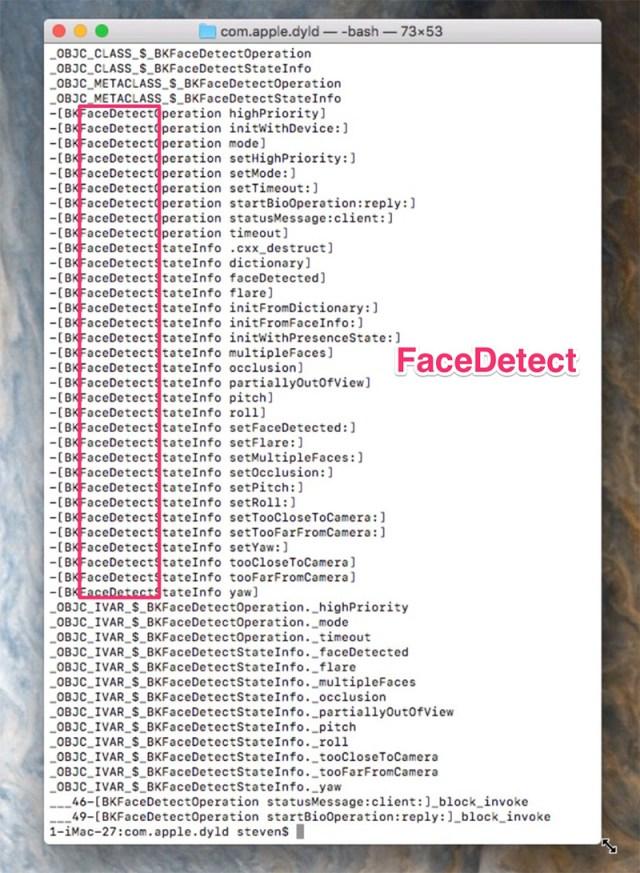 Reconocimiento facial en iOS
