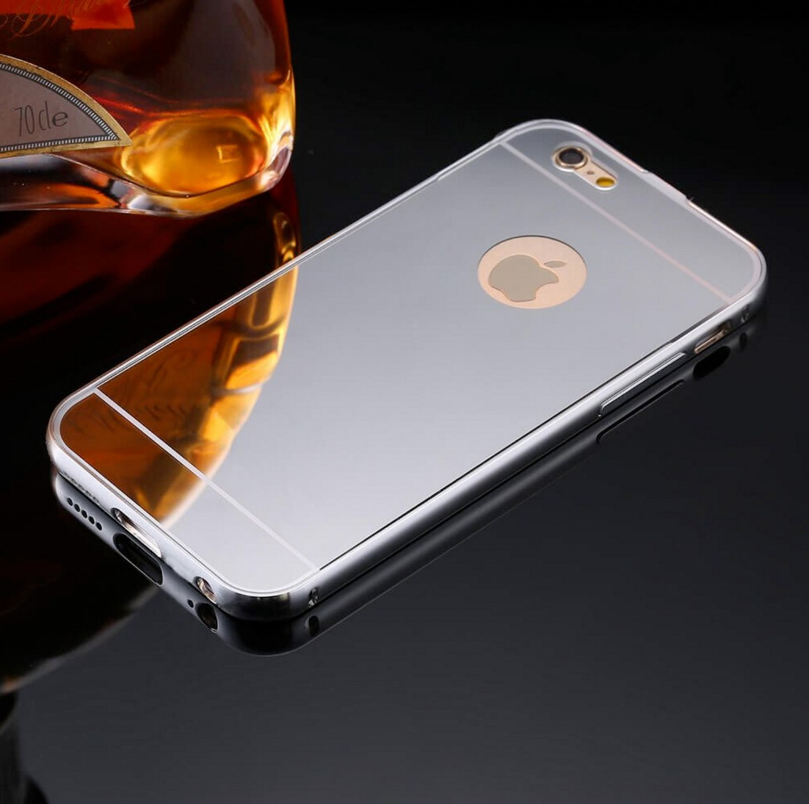 iPhone Pro plateado