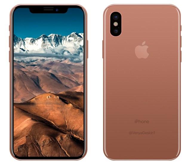 iPhone 8 en color Blush Gold
