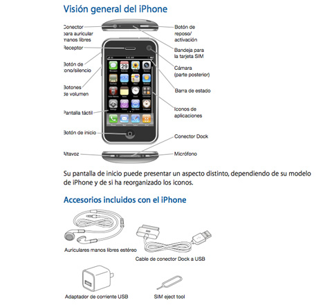 Manuales de iPhone / iOS para descargar en iPhoneros