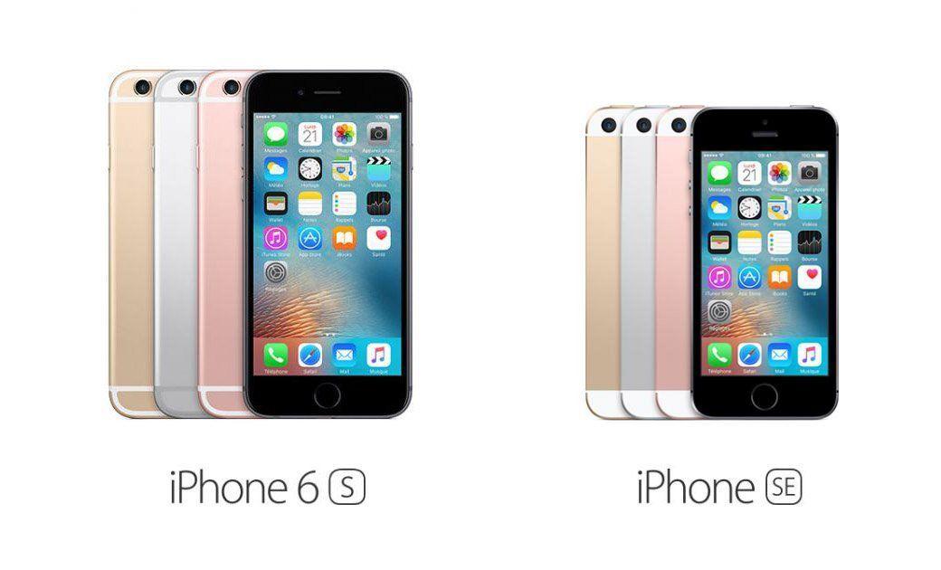 Différences entre l'iPhone SE et l'iPhone 6s