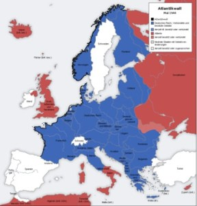 ドイツ 占領地