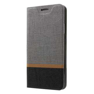 Just in Case iPhone X Wallet Case (Striped Grey)
