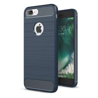 Just in Case Rugged TPU iPhone 7/8 Plus Case - Blauw